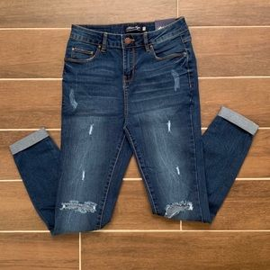 Ripped At The Knee Denim NWT